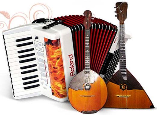 II Городской Фестиваль исполнителей на народных инструментах